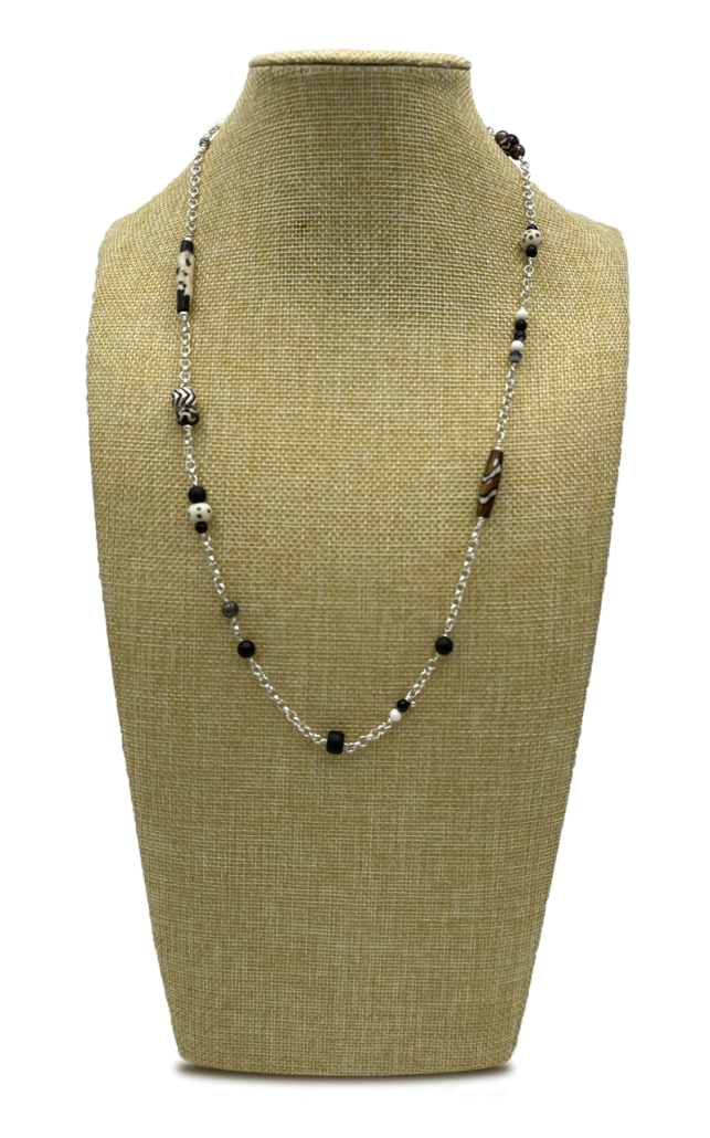 Medium Length Layered Necklace