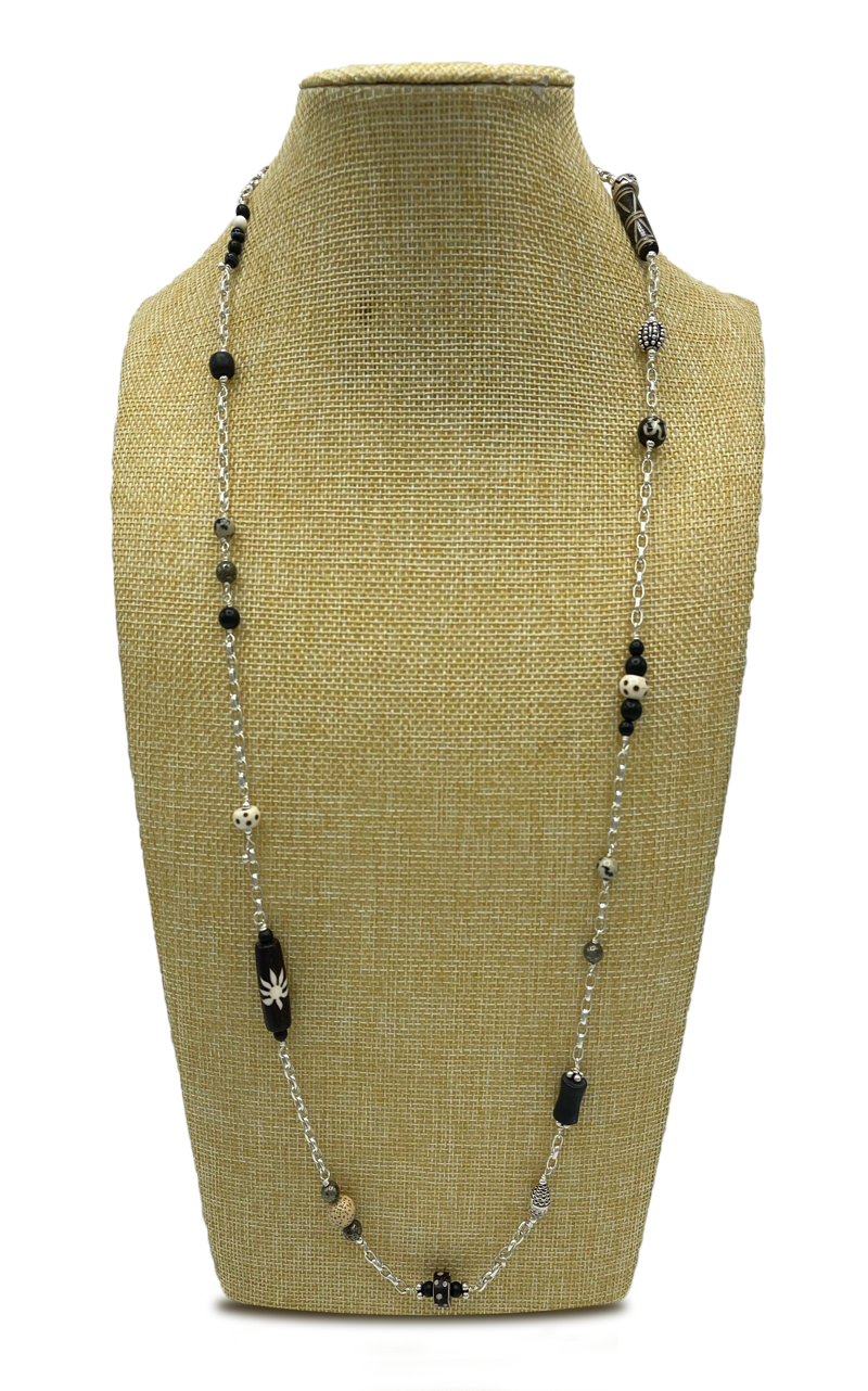 Extra Long Length Layered Necklace
